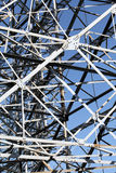 Steel framework Royalty Free Stock Photography