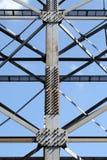 Steel framework Royalty Free Stock Images