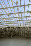 Steel framework of the dome Royalty Free Stock Image
