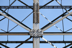 Steel framework Stock Photo