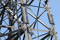 Steel framework Stock Image