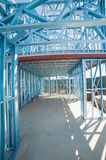 Steel framework under construction Royalty Free Stock Photography
