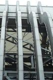 Steel Frameworks of Exhibition Pavillion Stock Photo