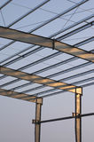 Steel framing Royalty Free Stock Images