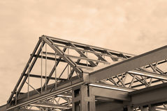 Steel Framing royalty free stock photography
