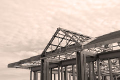 Steel Framing Stock Images