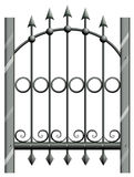 A steel gate Royalty Free Stock Photo