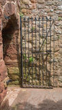 Steel Gate. Royalty Free Stock Photos