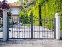 Free Steel Gates Royalty Free Stock Photos - 41330918