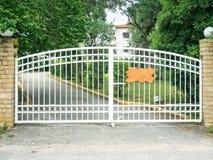 Free Steel Gates Stock Image - 41332041