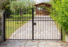 Steel gates Stock Photos