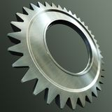 Steel gear Stock Photography