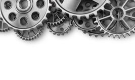Steel gear wheels Royalty Free Stock Images