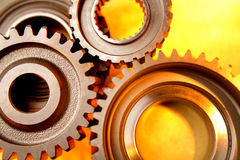 Steel gears Stock Photography