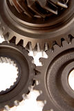 Steel gears Stock Image