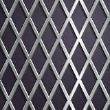 Steel geometric background. Royalty Free Stock Images