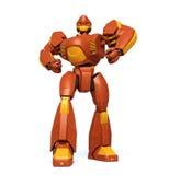 Steel giant. Anime style robot.  isolated on white background Stock Photo