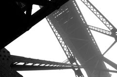 Steel Girder Abstract Royalty Free Stock Photo