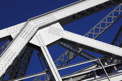Steel Girder Detail Stock Photography