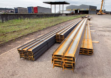Steel girders Stock Photography