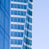 Steel and glass building Stock Images
