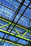 Steel and glass. Get the sun inside stock photography
