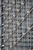 Steel and glass - modern facade Stock Photos