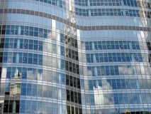 Steel and glass modern office building Stock Image