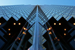 Steel and Glass - Night Royalty Free Stock Images