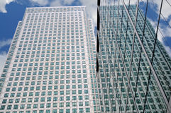 Steel and Glass Office Building Royalty Free Stock Image