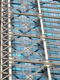Steel and glass skyscraper Stock Image