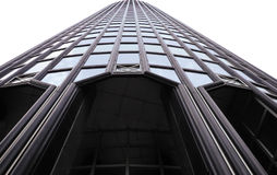 Steel and glass tower Stock Photography