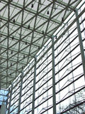 Steel-glass wall Royalty Free Stock Photo