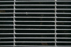 Steel grate of manhole cover duty drain Stock Images