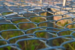 Steel grating  backgrounds royalty free stock photography