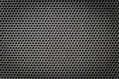 Steel grating black background tecture Stock Photos