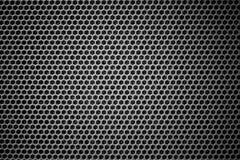 Steel grating black background texture stock image