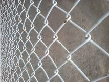 Steel grating. Royalty Free Stock Images