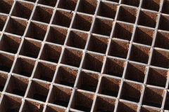 Steel grating Stock Images