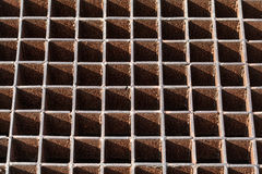 Steel grating Royalty Free Stock Photos