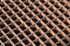 Steel grating Stock Photo