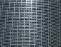 Steel grating plate. Chrome metal surface, background Stock Image