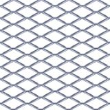 Steel Grating seamless structure. Chainlink isolated on white background. Vector illustration. EPS 10 vector illustration