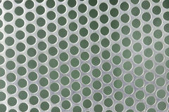Steel grating texture bokeh. Background royalty free illustration