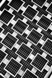 Steel Grid Stock Photography