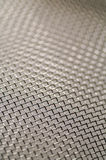 Steel grid. With selective focus and small deep of field Royalty Free Stock Photography