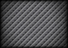 Steel grid background with sharp teeth Royalty Free Stock Photo