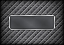 Steel grid frame Stock Photography