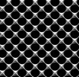 Steel grid with round holes seamless background Royalty Free Stock Image