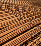 Steel grids 2. Steel grids industries backgrounds structure Royalty Free Stock Photos